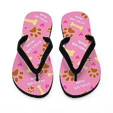 Beaglier Mom Gift Flip Flops