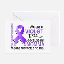 LO Means World H Lymphoma Greeting Card