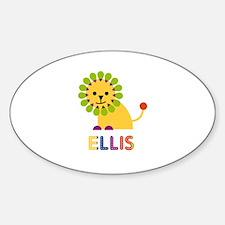 Ellis Loves Lions Decal