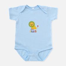 Ellis Loves Lions Body Suit