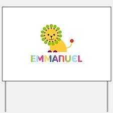 Emmanuel Loves Lions Yard Sign