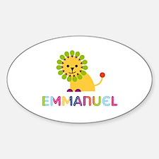Emmanuel Loves Lions Decal