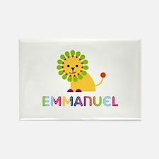 Emmanuel Loves Lions Rectangle Magnet