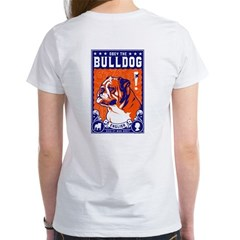 Obey the English Bulldog! Women's Tee