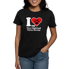 I Heart My West Highland White Terrier T-Shirt