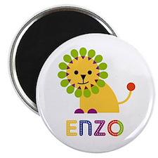 Enzo Loves Lions Magnet