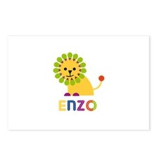 Enzo Loves Lions Postcards (Package of 8)