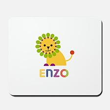 Enzo Loves Lions Mousepad
