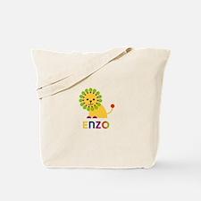 Enzo Loves Lions Tote Bag