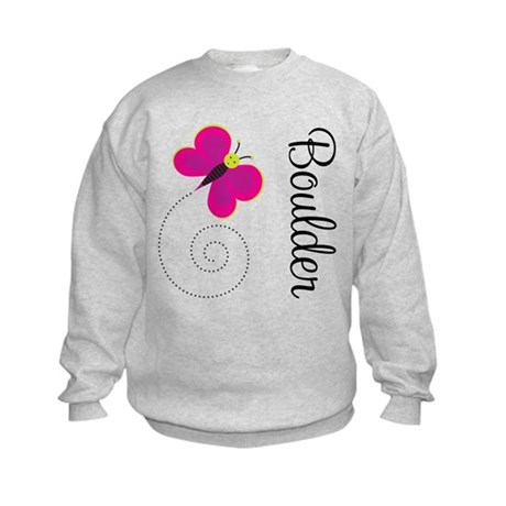 Cute Boulder Colorado Kids Sweatshirt