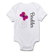 Cute Boulder Colorado Infant Bodysuit