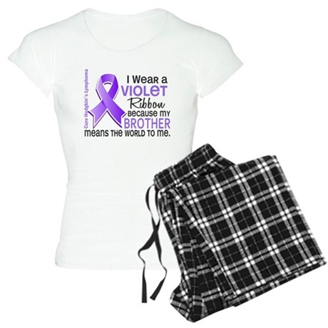 LO Means World H Lymphoma Women's Light Pajamas