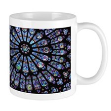 Stained glass window Notre Dame Mug