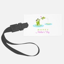 Hoppy Mothers day frogs Luggage Tag