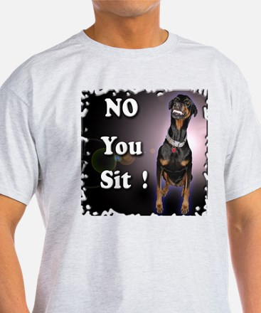 Doberman Pinscher Smiles T-Shirt