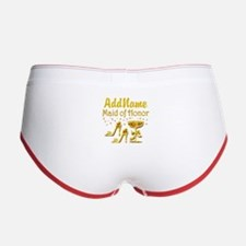 MAID OF HONOR Women's Boy Brief
