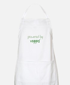 Powered By veggies BBQ Apron