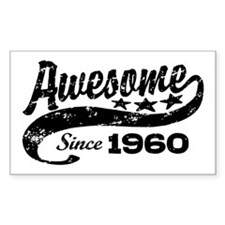 Awesome Since 1960 Decal