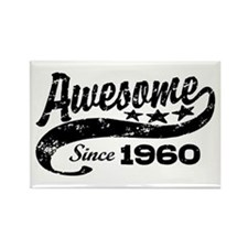 Awesome Since 1960 Rectangle Magnet