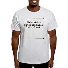 Intentionally Blank Ultra-soft T-Shirt