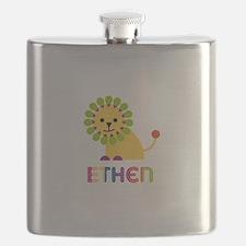 Ethen Loves Lions Flask