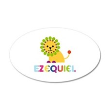 Ezequiel Loves Lions Wall Decal