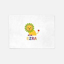 Ezra Loves Lions 5'x7'Area Rug