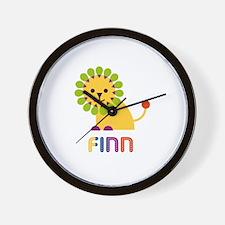 Finn Loves Lions Wall Clock