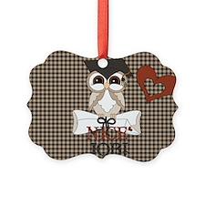 Graduate Owl Ornament