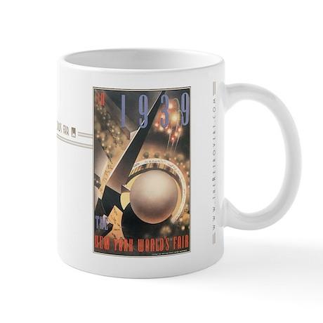 1939 New York Worlds Fair Mug