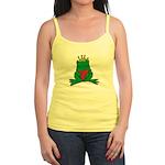 Frog Prince Crown Heart Cartoon Jr. Spaghetti Tank