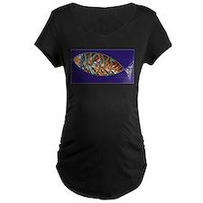 ICHTHYS fish Maternity T-Shirt