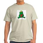 Frog Prince Crown Heart Cartoon Light T-Shirt