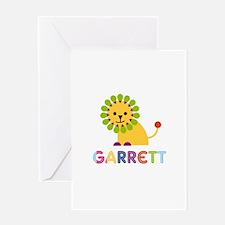 Garrett Loves Lions Greeting Card