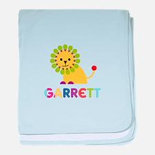 Garrett Loves Lions baby blanket