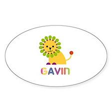 Gavin Loves Lions Decal
