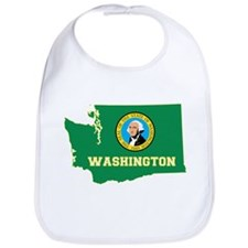 Washington Flag Bib