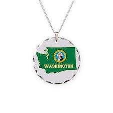 Washington Flag Necklace