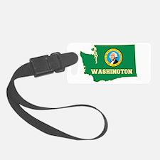 Washington Flag Luggage Tag