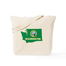 Washington Flag Tote Bag