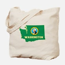 Washington Flag Tote Bag