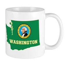 Washington Flag Small Mug
