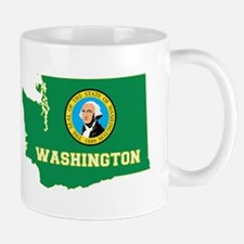 Washington Flag Small Small Mug