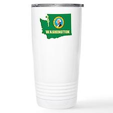 Washington Flag Travel Mug