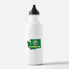 Washington Flag Water Bottle