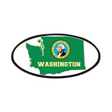 Washington Flag Patches