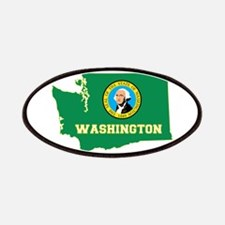 Washington Flag Patches