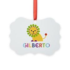 Gilberto Loves Lions Ornament