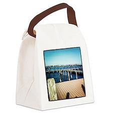 Mantoloking Park Canvas Lunch Bag