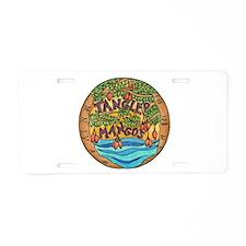 Tangled Mangos Aluminum License Plate
